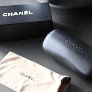 Authentic CHANEL Sunglasses Hard/Soft Case